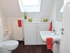 attic bathroom remodel