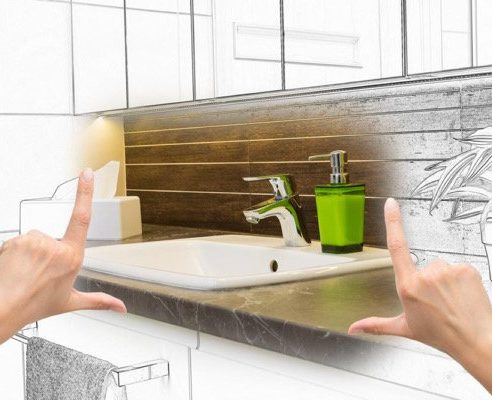 Bathroom Remodeling drawing